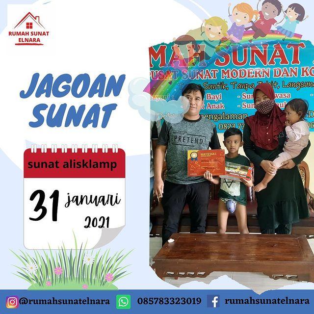 Jagoan Sunat Sholih Rumah Sunat Elnara Lampung